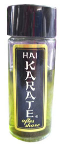 60's hai karate aftershave