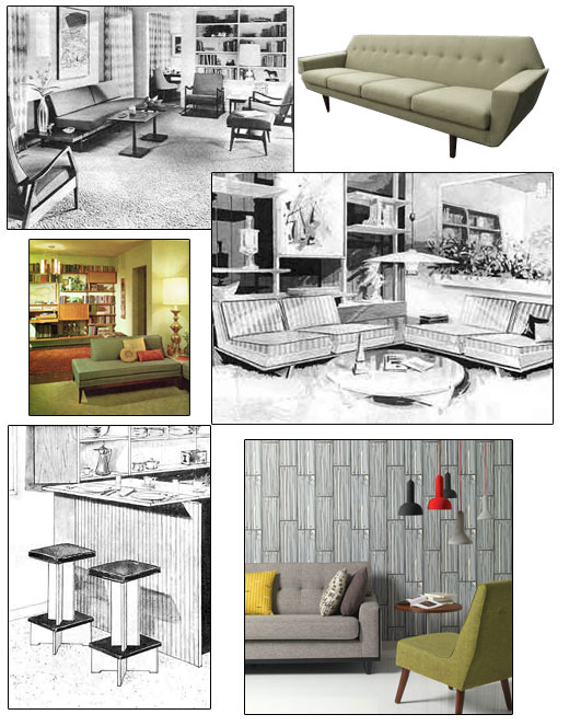 60's space age furniture